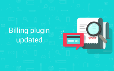 Billing plugin updated