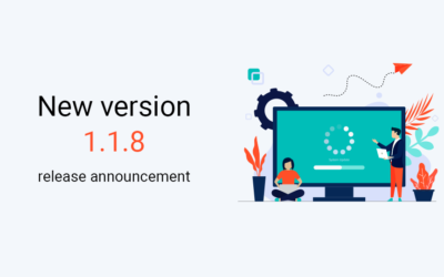 New version 1.1.8 release announcement