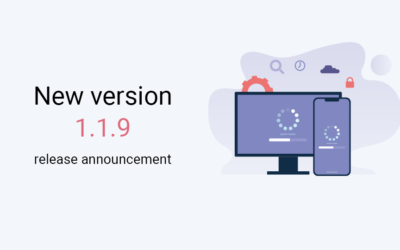 New version 1.1.9 release announcement