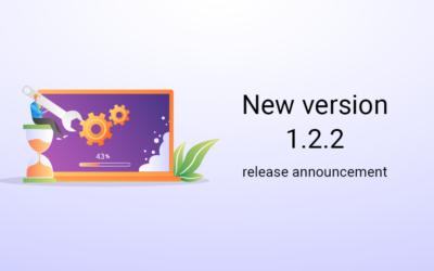 New version 1.2.2 release announcement