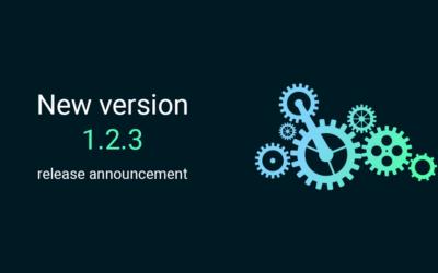 New version 1.2.3 release announcement