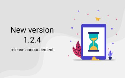 New version 1.2.4 release announcement