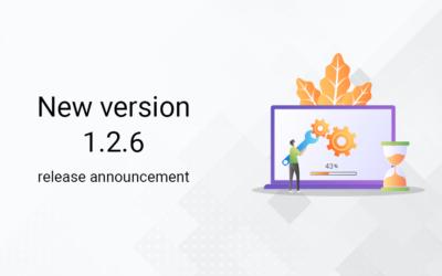 New version 1.2.6 release announcement