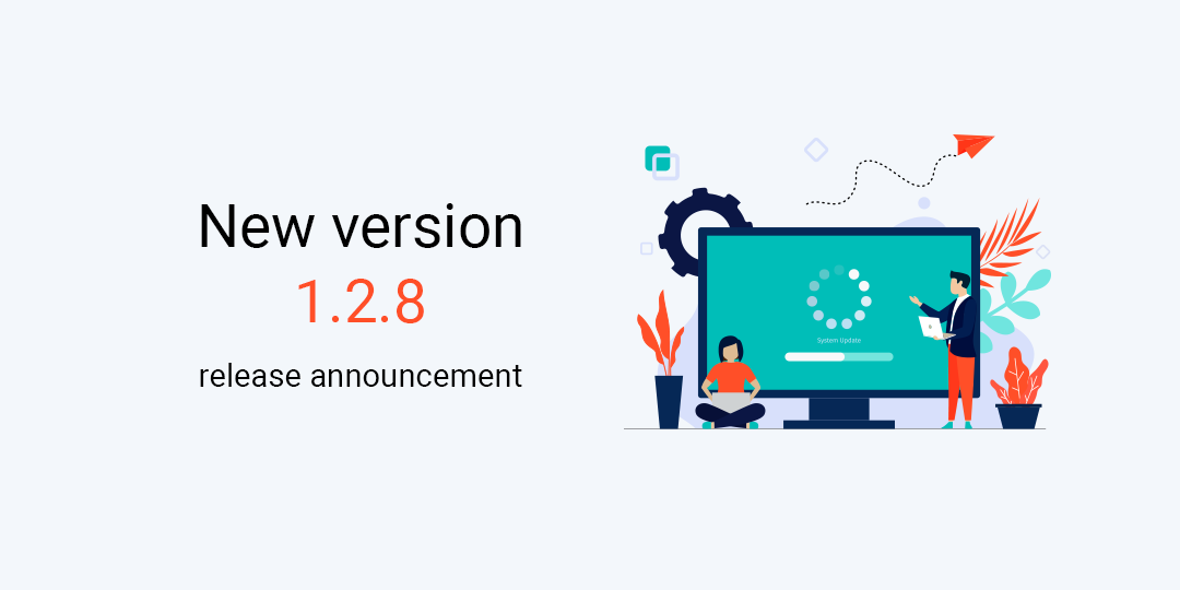 New version 1.2.8 release announcement