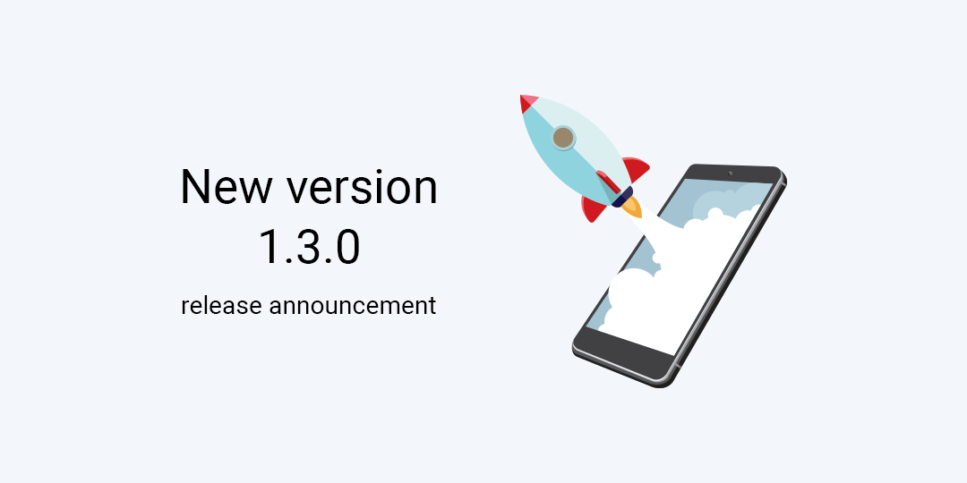 New version 1.3.0 release announcement