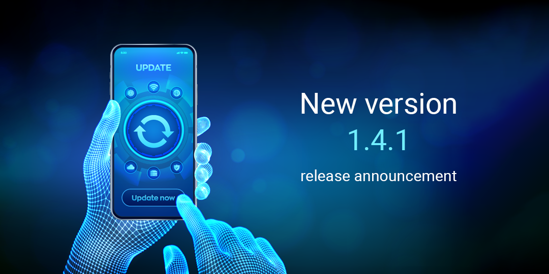 New version 1.4.1 release announcement