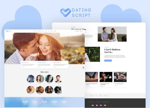 dating script demo